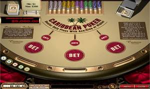 casino craps online caribbean stud